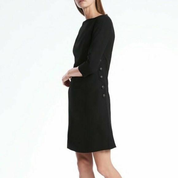 Banana Republic Dresses & Skirts - nwt | Banana Republic Side Button Shit Dress